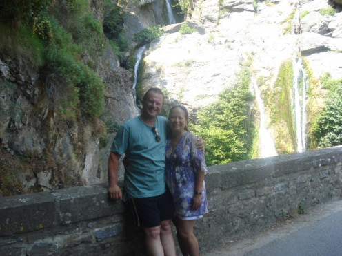 Me & My Husband in Corsica, France