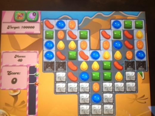 Level 116 for Candy Crush Saga