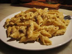 Quattro Formaggi (four cheese) Pasta
