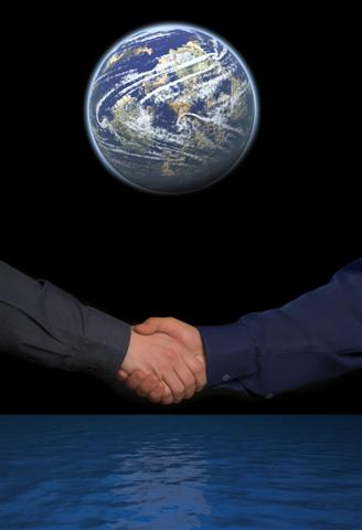 Shake Hands Across the World