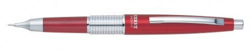 Pentel Sharp Kerry Automatic Pencil, 0.5mm Lead Size, Red Barrel, 1 Each (P1035B)