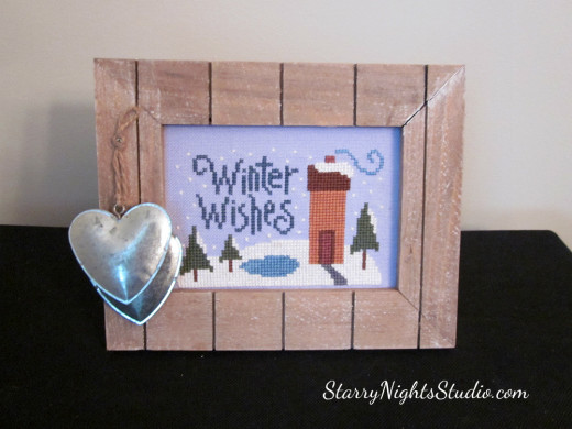 Winter Wishes Framed Art