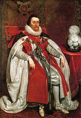 King James I of Great Britain and Ireland