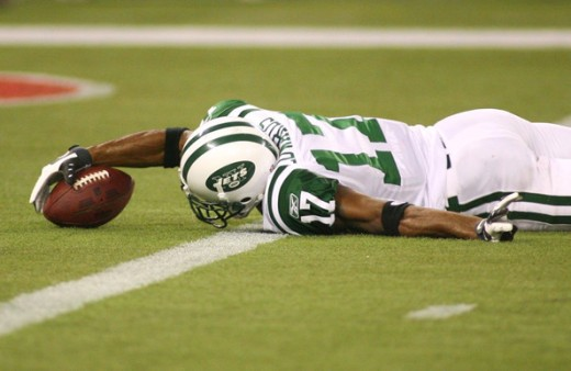Braylon Edwards had great success with Mark Sanchez and when the end of the 2010
