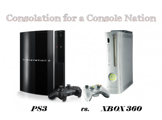 PS3 vs. Xbox 360 video game consoles