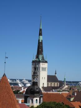St. Olaf's Church Tallinn, Estonia