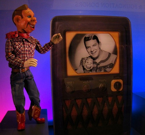 DIA houses one of the original Howdy Doodie marionettes from the popular 1950s afternoon children's show.