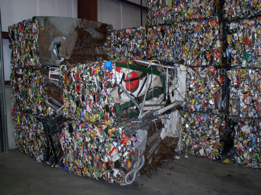 Metal Recycling can be a lucrative job for a young person with a truck