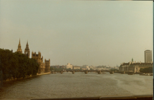Parliament and River Thames