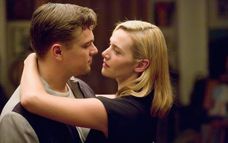 Leonardo DiCaprio and Kate Winslet in Revolutionary Road,      photo credit, Paramount