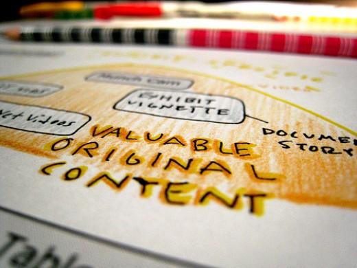 Valuable Original Content