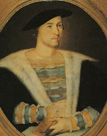 Mary Boleyn's first husband, William Carey