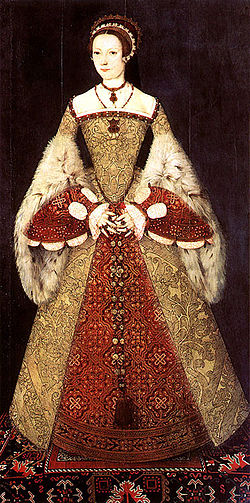 The young Katherine Parr
