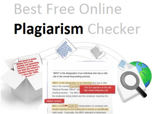 Free online Plagiarism Checkers