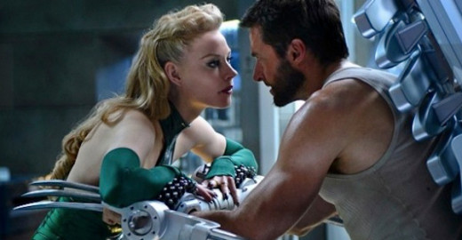 Svetlana Khodchenkova as Viper faces off with Jackman's Wolverine
