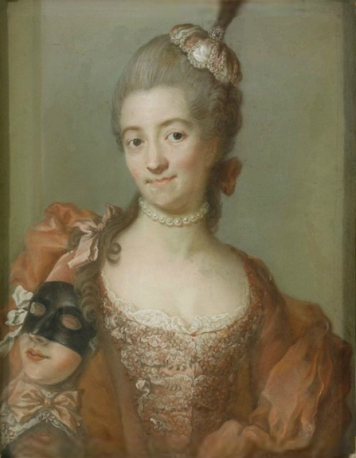 Portrait of Eva Helena Löwen by Gustaf Lundberg