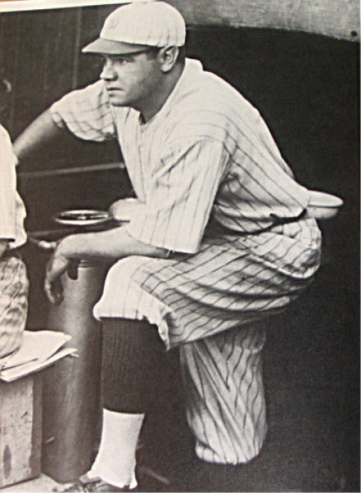 Babe Ruth in 1920. One of the greatest to ever play the game