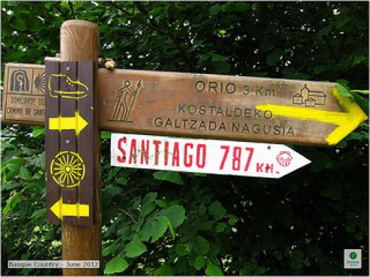 787 km to the Camino de Santiago