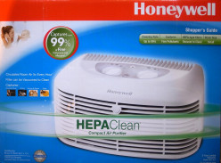 Home Air Filters - Honeywell HHT-011 Compact Air Purifier with permanent HEPA-type filter