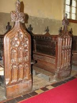 The Pews as they were years ago.