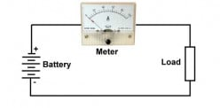 Low Current Ammeter Circuit
