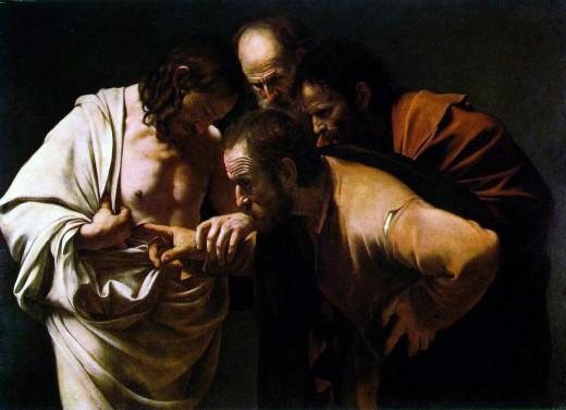 """Doubting Thomas"" by Caravaggio"