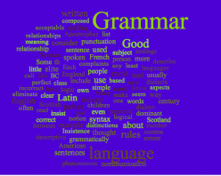 Good Grammar as a tool of power