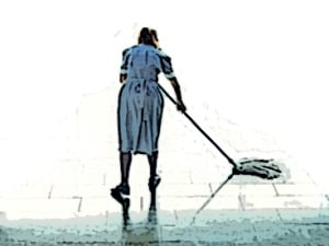 The Cleaning Woman