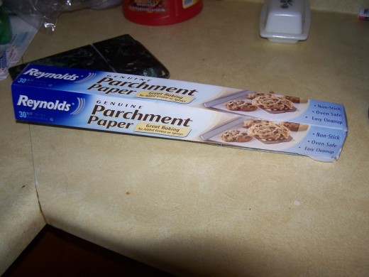 Parchment paper makes clean-up easier.