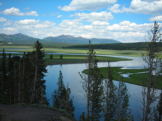 The Hayden Valley, Yellowstone National Park
