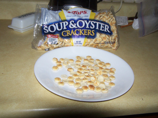 "No one knows why they are called ""oyster crackers""."
