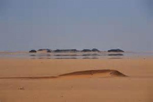 Mirage in the Desert