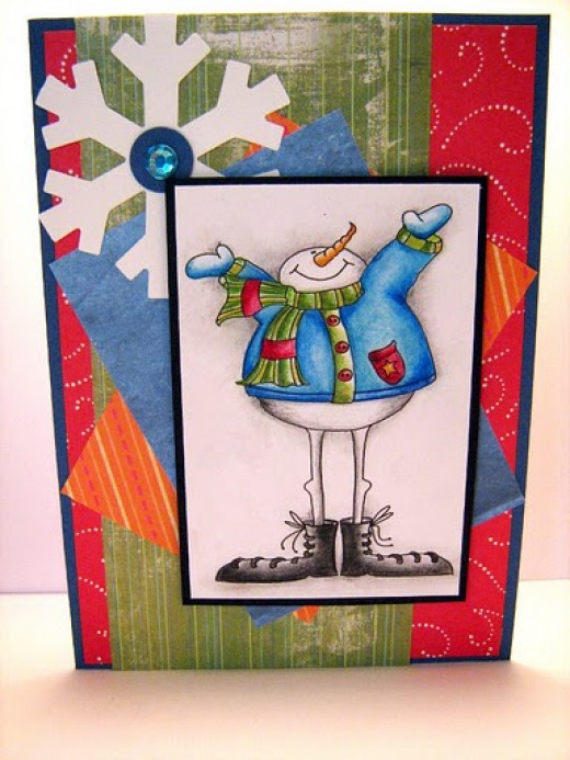 Winter Wonderland Handmade Card