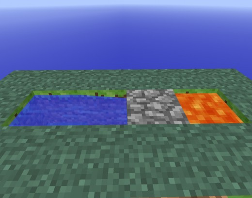When built properly, a cobblestone generator provides an infinite supply of cobblestone.
