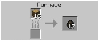 Charcoal is easy to make once you have wood, so keep growing those trees!