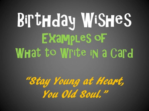 what to write in birthday cards