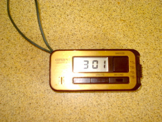 Small Digital Battery Travelling Clock
