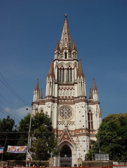 A Roman Catholic Church in Trichy