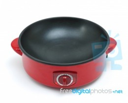 Use electric frying pan to save energy