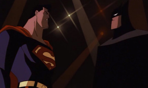 Superman meets Batman in The World's Finest