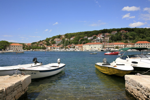 Jelsa is a town on the island Hvar. It is located in the bay, on the northern side
