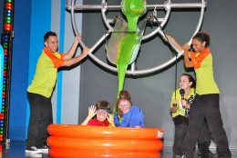 At the Nickelodeon Hotel you can get slimed.