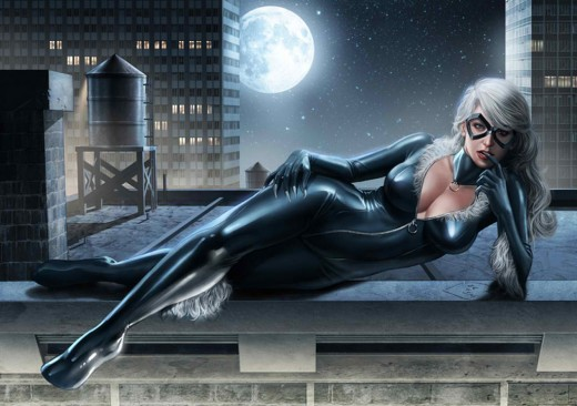 Classic Black Cat Costume