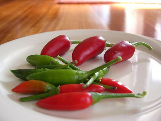 Chillies are particularly good at increasing the thermic effect of food.