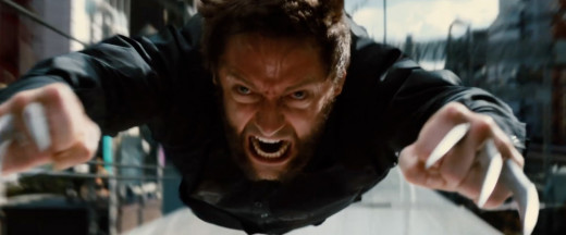 The action sequences were pretty good, highlighted by Wolverine's train battle with a few Yakuza thugs.