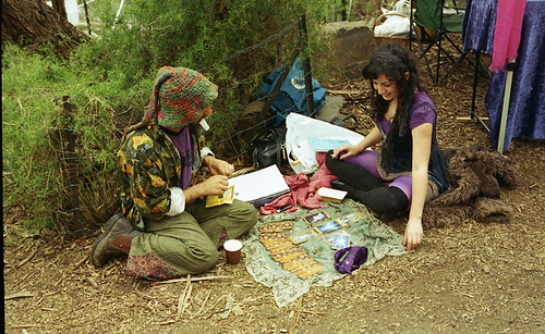 A Tarot Reading can be conducted any where as long as you have your Tarot Cards