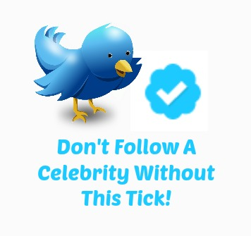 What does the blue tick on Twitter mean?