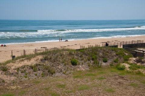 Look at the beautiful beaches at Nags Head on the N.C. Outerbanks. Have you ever been here. Why not. You should plan a trip real soon.