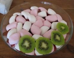 more marshmallows & kiwis