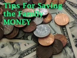 Save some cash with these money saving ideas for families.